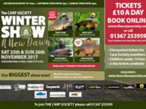 CARP SOCIETY WINTER SHOW 2017