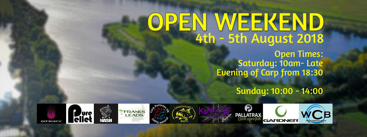 HORSESHOE LAKE OPEN WEEKEND
