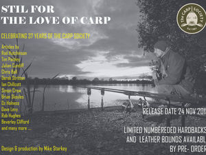 STILL FOR THE LOVE OF CARP BOOK LAUNCH