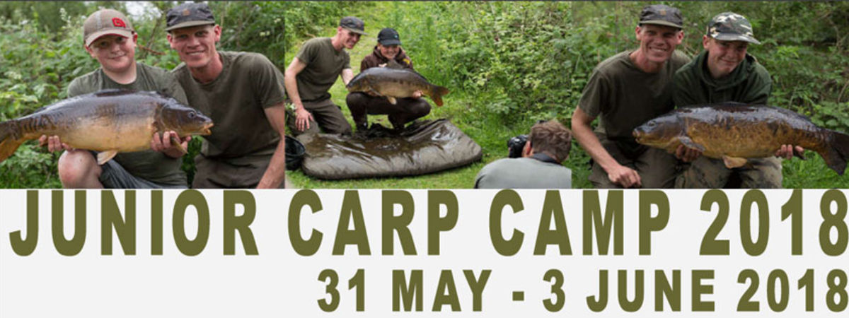Junior Carp Camp 2018