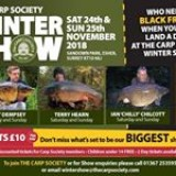 Looking forward to this year's show 24/25 Nov #carpsociety #carpsocietywintershow