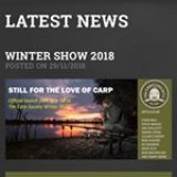 Check out Miles latest blog/news regarding the show and Carp Society merchandise