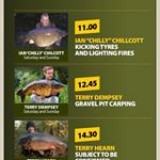 Check out out guest speakers at this year's #carpsocietywintershow2018  #forums advance tickets available www.thecarpsociety.com