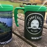 Brand new thermal mugs available from www.thecarpsociety.com