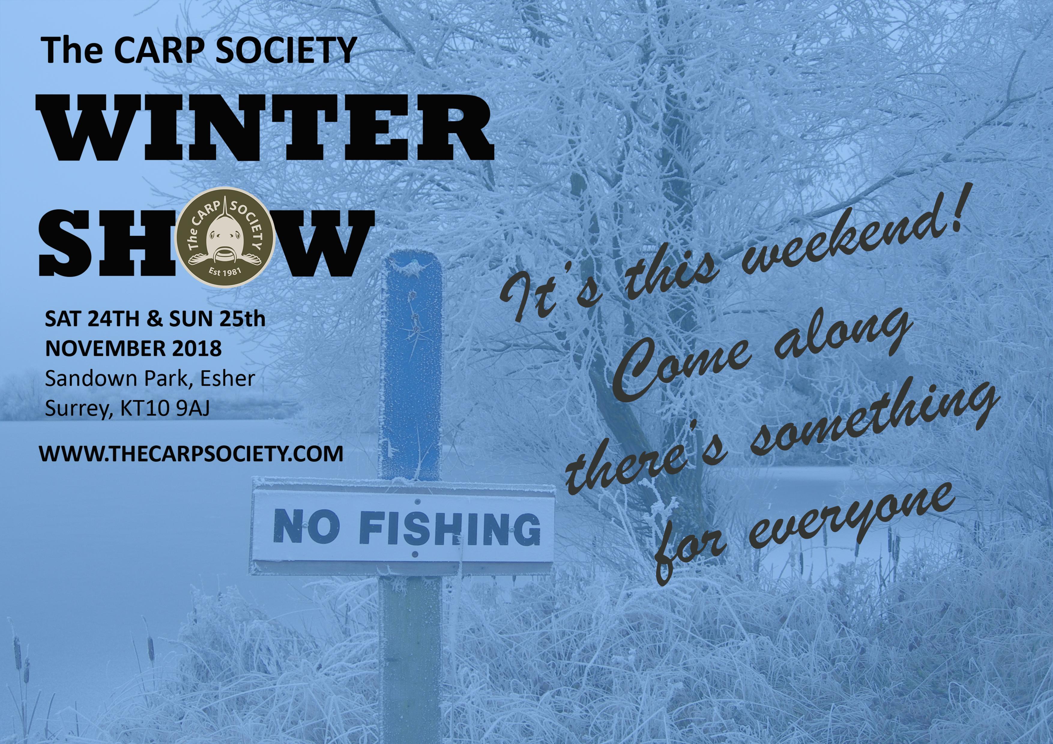 CARP SOCIETY WINTER SHOW 2018