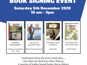 BOOK SIGNING EVENT 2020