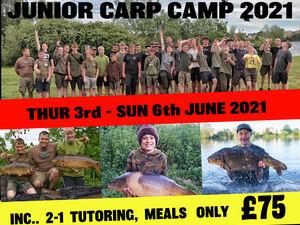 Junior Carp Camp 2021