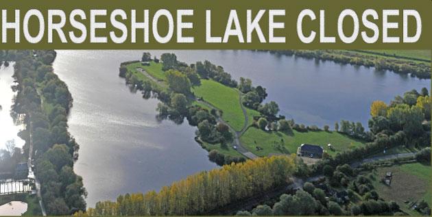 HORSESHOE LAKE CLOSED