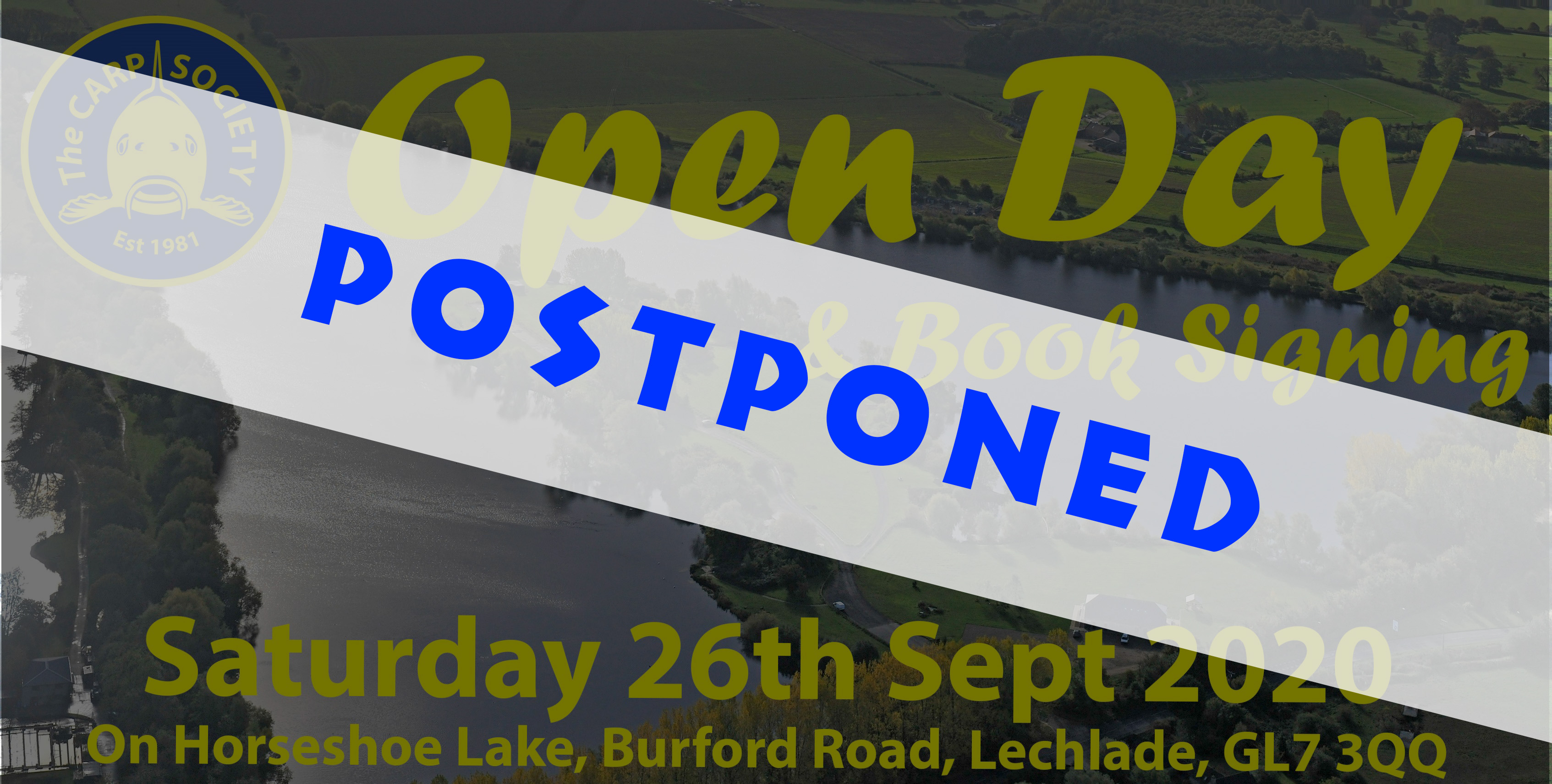 HORSESHOE LAKE OPEN DAY SEPT 2020 POSTPONED
