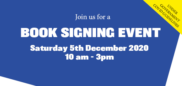 BOOK SIGNING EVENT 05th DECEMBER 2020