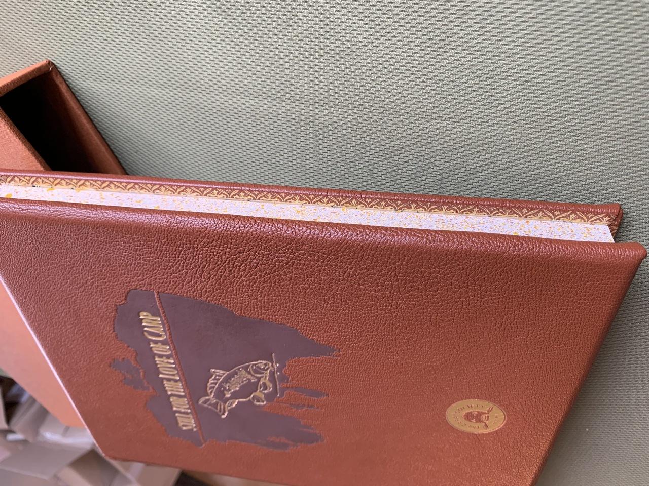 LEATHERBOUND - Still for the love of Carp **limited edition